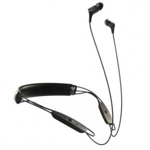 Klipsch R6 Bluetooth Leather Neckband Earphones (Black) @ Buydig