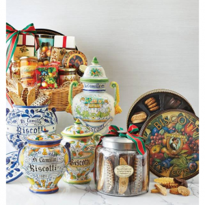 Dicamillo Baking Co Holiday Biscotti Moderno Jar