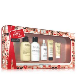 Celebrate pure skin skincare gift set