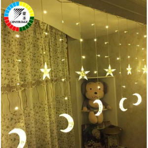 Coversage Fairy String Lights Wedding Lamp Curtain Led String Christmas Tree Decoration Garden Out