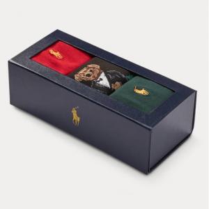 POLO RALPH LAUREN Bear Sock Gift Box for $8.40 @Ralph Lauren