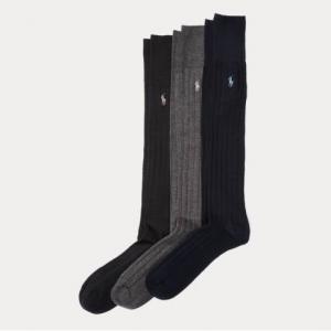 POLO RALPH LAUREN Mercerized Slack Sock 3-Pack