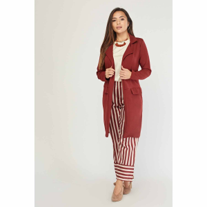 Double Breasted Thin Duster Coat