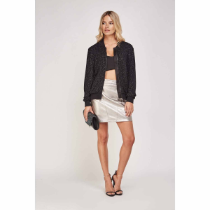 Textured Black Thin Jacket