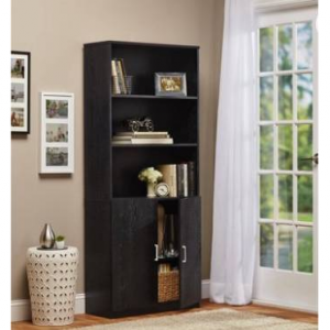$69 Ameriwood 3-Shelf Bookcase with Doors @ Walmart