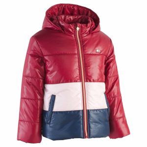 Tommy Hilfiger Girls Hooded Puffer Jacket $35(was $50)@macys.com