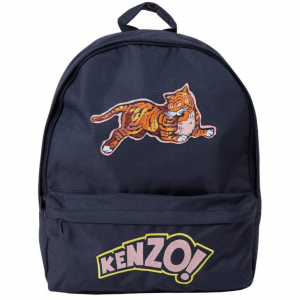 Kenzo Kids' Logo & Jumping Tiger Backpack