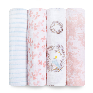 """aden + anais 47"""" classic swaddle set 4-pack"""