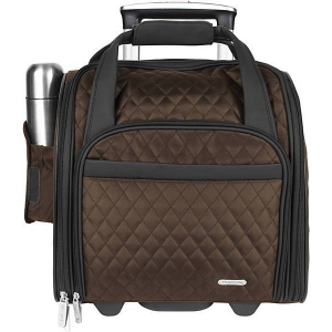 Travelon Wheeled Underseat Carry-On Bag 14""