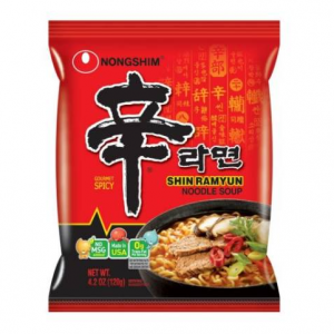 $13.87 Nongshim Shin Ramyun Noodle Soup (4.2 oz. pkg., 16 ct.) @ Sam's Club
