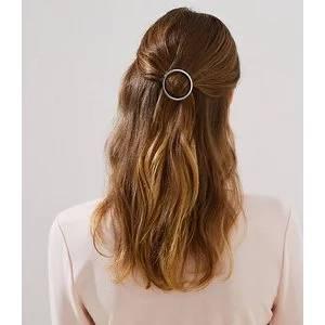 METALLIC RING HAIR CLIP