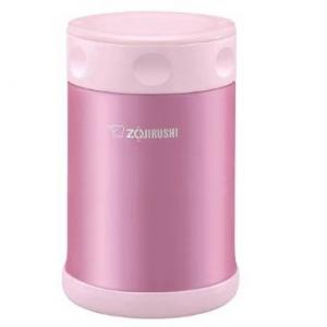 ZOJIRUSHI Stainless Steel Food Jar Pink 500ml SW-EAE50-PS