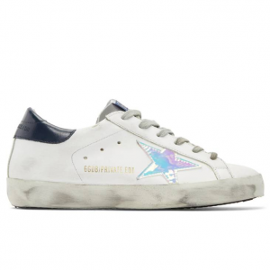 Golden Goose SSENSE Exclusive White Leather Superstar Sneakers