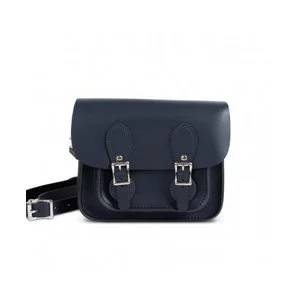 Gweniss Freya Mini Satchel - Navy Blue