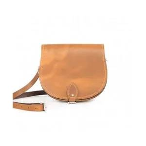Gweniss Avery Saddle Bag - Premium Vintage Tan