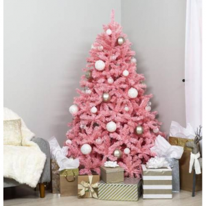 6ft Artificial Christmas Fir Tree Holiday Decor w/ 1477 Branch Tips, Stand