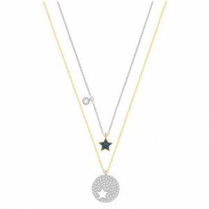 SWAROVSKI CRYSTAL WISHES STAR NECKLACE SET