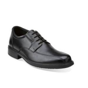 Mens Bostonian Bardwell Walk Black Oxfords