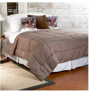 Cozy Nights Reversible Down Alternative Comforter
