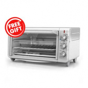 Black & Decker Air Fryer Toaster Oven