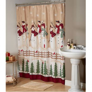 Avanti Snowman Gathering Bath Collection