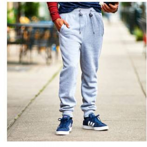 Young Mens Galaxy By Harvic Fleece Joggers