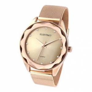 Womens Ellen Tracy Rose Gold Watch - ET5180RG