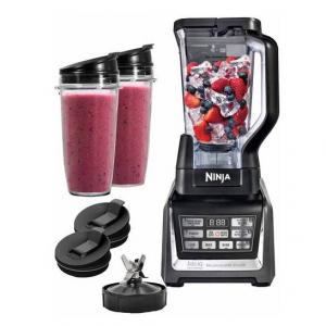 Ninja Duo Auto IQ Blender with NutriNinja Single Serve Cups (BL640)