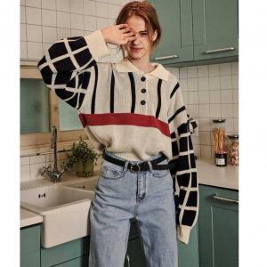VITALSIGN Retro Checkerboard Knit