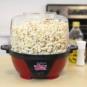 $16.55 off West Bend 82505 Stir Crazy Popcorn Popper, 6-Quart @ Amazon