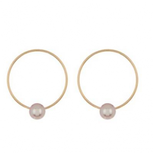 TARA Pearls 14K Yellow Gold 7mm Freshwater Cultured Pearl Earrings