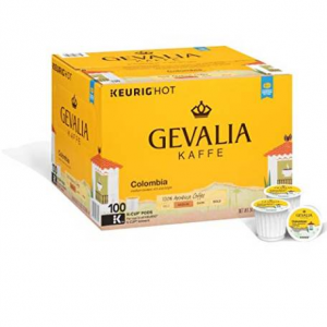 $27.06(value $28.48) for Gevalia Colombia Coffee, K-CUP Pods, 100 Count @ Amazon