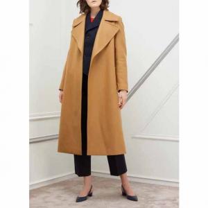 Pallas Long belted coat