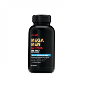 GNC MEGA MEN® 50 PLUS ONE DAILY 60 Caplets