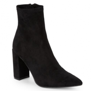 Steve Madden Clareese Suede Point Toe Ankle Boots