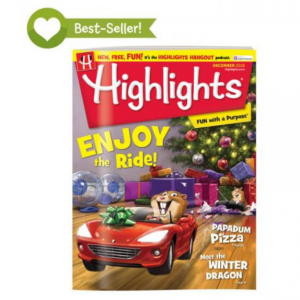 $29.64 Highlights magazine 12 issues one year + 2 gifts