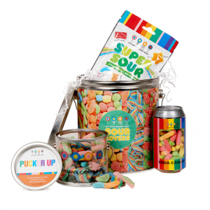 DYLAN'S CANDY BAR SOUR LOVERS GIFT BASKET
