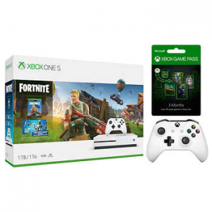 $50 OFF Xbox One S 1TB Fortnite Bundle for Xbox One @GameStop