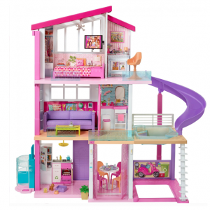 $40 off NEW Barbie DreamHouse Playset with 70+ Accessory Pieces @ Walmart