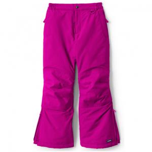 Girls Slim Squall Waterproof Iron Knee Winter Snow Pants