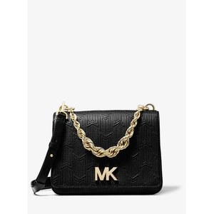 MICHAEL MICHAEL KORS Mott Large Deco Quilted Leather Crossbody
