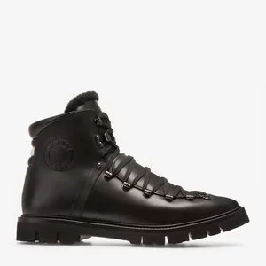 CHACK MEN'S CALF LEATHER BOOT IN BLACK