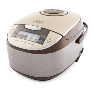 """AROMA Multi-Function Digital Display Rice Cooker 12 Cup ARC-6106 14.5"""" x 8.63"""" x 8.63"""""""
