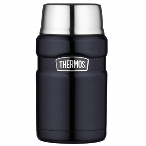 $19.71 Thermos Stainless King 24 Ounce Food Jar, Midnight Blue @ 	Amazon