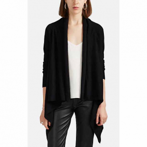 BARNEYS NEW YORK Cashmere Open-Front Cardigan