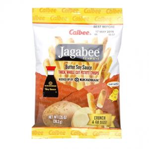 Calbee Jagabee Butter Soy Potato Sticks, 1.4 Ounce (Pack of 8)