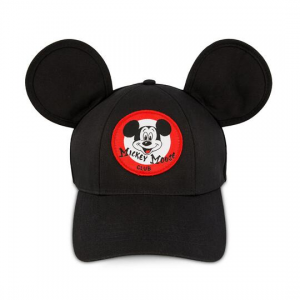 Mouseketeer Ear Baseball Cap for Adults - The Mickey Mouse Club