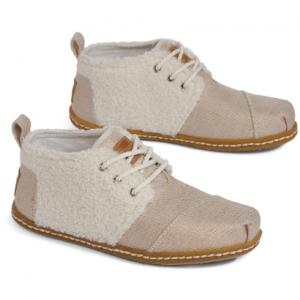 Natural Plush Faux Shearling Women's Bota Boots