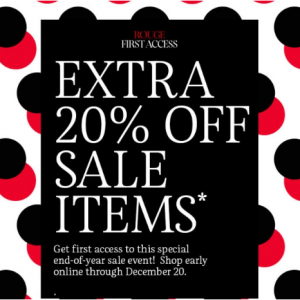 Up To 50% Off + Extra 20% Off Sale Items @ Sephora