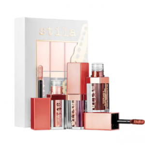 STILA Shimmer Heights Mini Shimmer & Glow Liquid Eye Shadow Set
